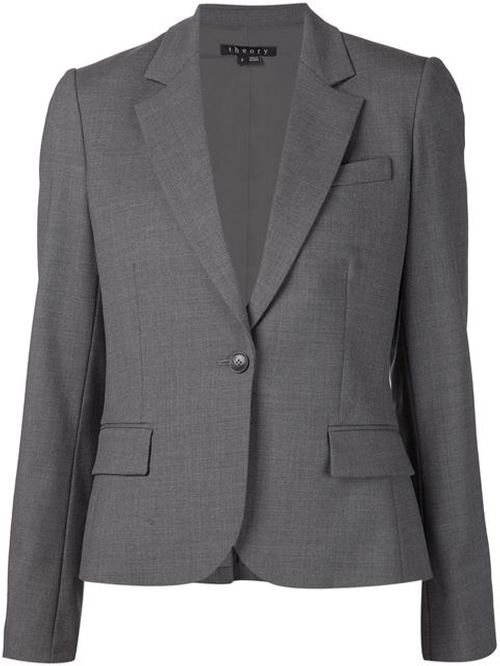 Single Button Blazer by Theory in Scandal