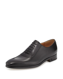 Leather Lace-Up Shoes by Gucci in Suits