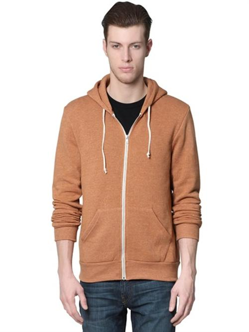 Rocky Eco Fleece Zip Hoodie Sweatshirt by Alternative in Neighbors