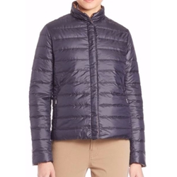 Clair Water-Resistant Reversible Jacket by Weekend Max Mara in Quantico