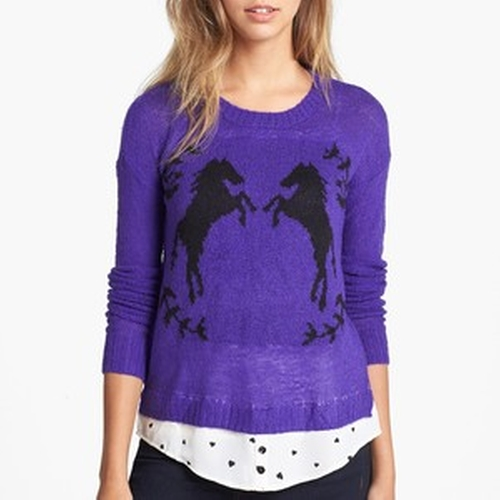 Tissue Knit Sweater by Kensie in The Big Bang Theory - Season 9 Episode 4