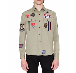 Military Shirt-Jacket by Alexander McQueen in Ballers