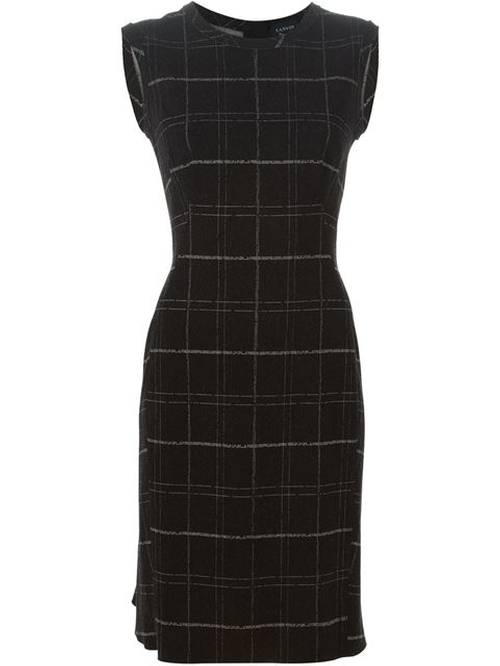 Checked Dress by Lanvin in How To Get Away With Murder - Season 2 Episode 3