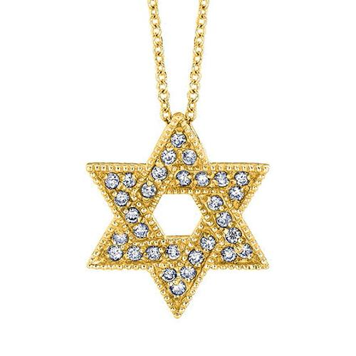 Star of David Diamond Pendant Necklace by Jewelry Point in Pain & Gain