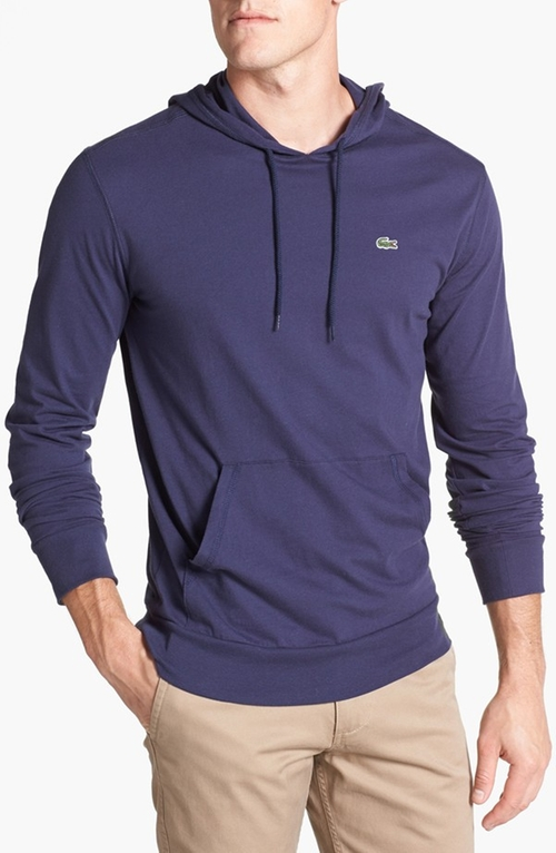 Jersey Hoodie by Lacoste in The Choice