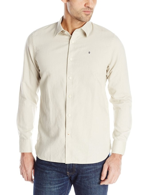 Villamont Long Sleeve Linen Shirt by Victorinox in The Walk