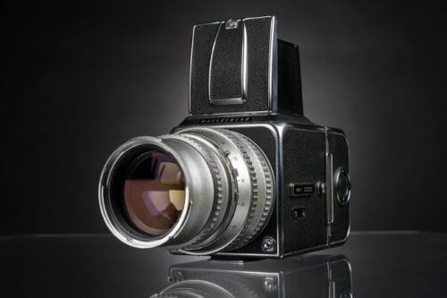 500 C by Hasselblad in Yves Saint Laurent