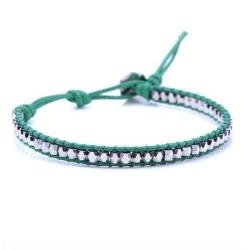 Silver Bead Wrap Bracelet by Peppercorn Kids in Before I Wake