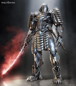 Silver Samurai by Josh Nizzi (Concept Artist) in The Wolverine