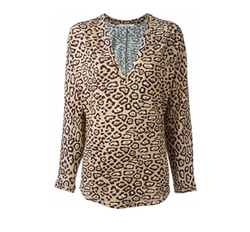 Leopard Print Top by Givenchy in Empire