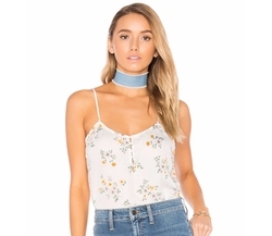 X Revolve The Button Cami Top by L'academie in American Made