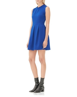 Regular Pleated Dress by Sandro in The Flash