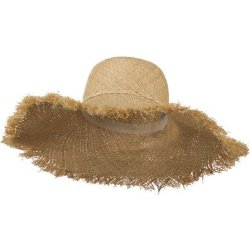 Fringe Edge Raffia Hat by SS/Sophia in The Other Woman