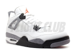 Air Jordan 4 Retro Shoes by Nike in Dope
