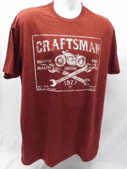 Tools 1927 Throwback T Shirt by Craftsman in The Ranch