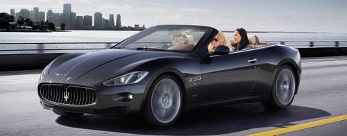 Granturismo Convertible by Maserati in Project Almanac