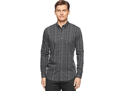 Tonal Plaid Shirt by Calvin Klein in Modern Family