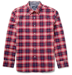 Checked Cotton Shirt by Grayers in Modern Family