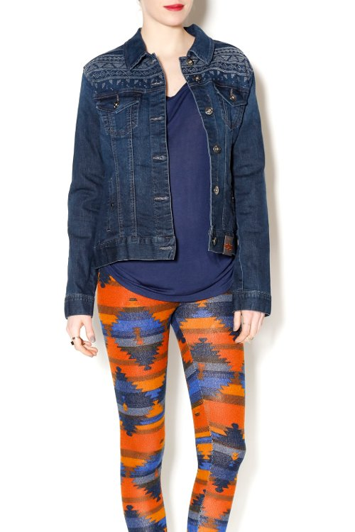 Stretch Denim Jacket by Liverpool in Crazy, Stupid, Love.