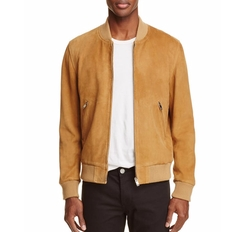 Suede Bomber by Sandro in American Made