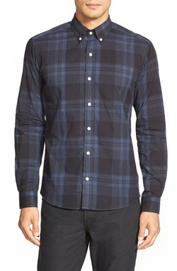 'Sanford' Slim Fit Sport Shirt by Bespoken in New Girl