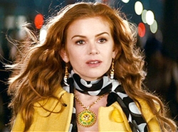 Large Medalion Pendant Necklace by Versace in Confessions of a Shopaholic