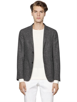 Cotton & Linen Summer Tweed Blazer by Z Zegna in Why Him?