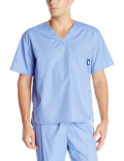 Men's V-Neck Scrub Top by U.S. Polo Assn. in Neighbors