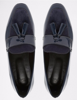 Leather Tassle Loafers by Asos Collection in Pretty Little Liars