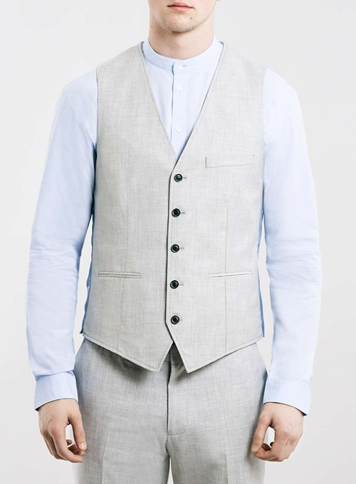Suit Vest by Topman in Victor Frankenstein
