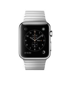 Stainless Steel Case with Link Bracelet by Apple in Modern Family