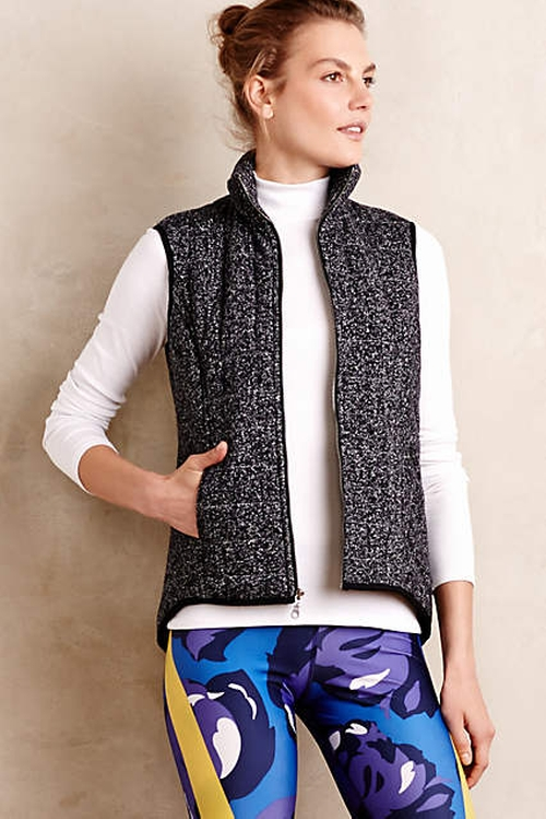 Quilted Maja Vest by Pure + Good in The Mindy Project - Season 4 Episode 9