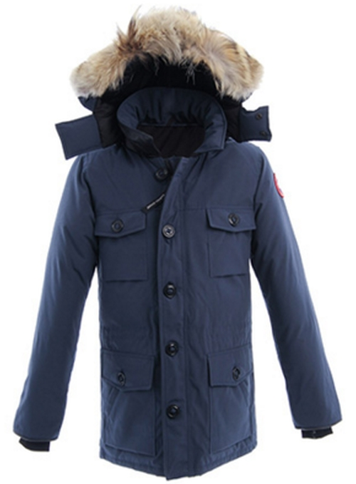'Banff' Slim Fit Parka With Genuine Coyote Fur Trim by Canada Goose in The Flash