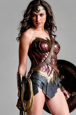 Custom Made 'Wonder Woman' Costume (Diana Prince) by Michael Wilkinson (Costume Designer) in Justice League