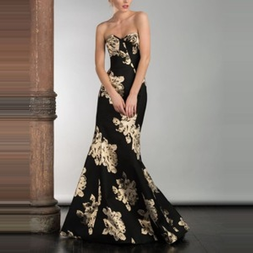Fall 2015 Strapless Gown by Gustavo Cadile in Scandal - Season 5 Episode 9