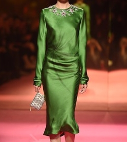 SS15 Couture Midi Dress by Schiaparelli Couture in Empire