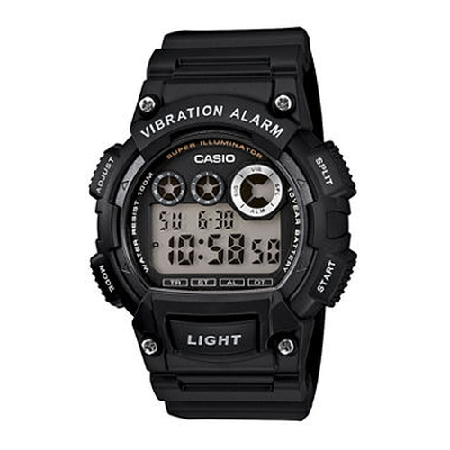 Resin Strap Digital Sport Watch by Casio in The Big Bang Theory - Season 9 Episode 20