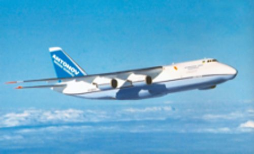 AN-124-100 Ruslan Transport Airplane by Antonov in Fast & Furious 6