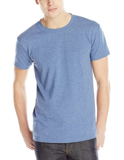 Men's Cotton T-Shirt by Naked & Famous Denim in Grease
