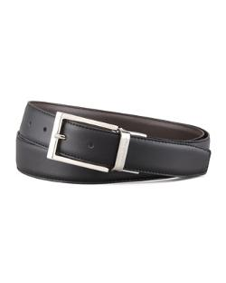 Shiny Reversible Belt by Ermenegildo Zegna in Gone Girl