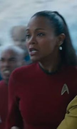 Custom Made Uhura Dress by Sanja Milkovic Hays (Costume Designer) in Star Trek Beyond