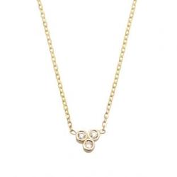 Tiny Indigo Necklace by Vale Jewelry in Billions
