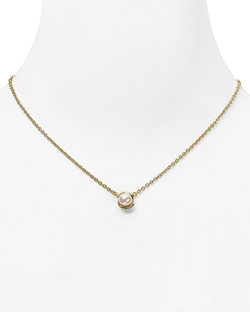 Faux Pearl Pendant Necklace by Kate Spade New York in Pretty Little Liars