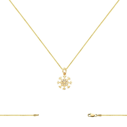 Snowflake Charm Necklace by Gemaffair in The Martian