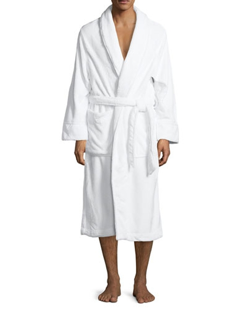 Plush Spa Robe by Neiman Marcus in Ballers - Season 1 Episode 4