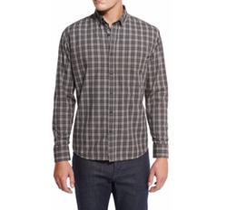 Plaid Cotton Sport Shirt by Billy Reid in New Girl