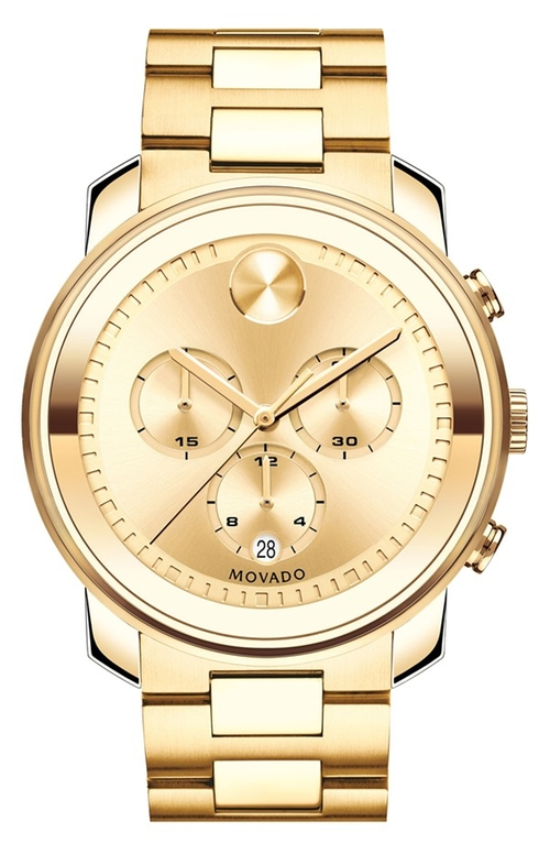 'Bold' Chronograph Bracelet Watch by Movado in Vacation