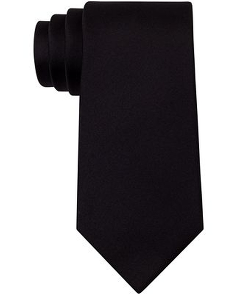 Solid Slim Tie by Kenneth Cole in Mission: Impossible - Ghost Protocol