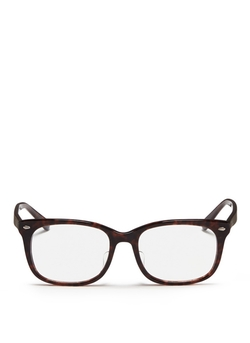 Tortoiseshell Square Optical Glasses by Ray-Ban in The Mindy Project