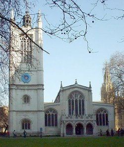 London, United Kingdom by St Margaret's Church in Fast & Furious 6